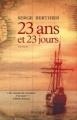 Couverture 23 ans et 23 jours Editions L'Archipel 2018