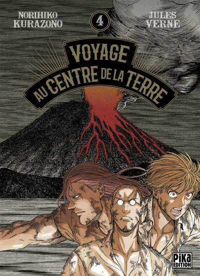 Couverture Voyage au centre de la terre (manga), tome 4