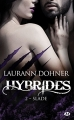 Couverture Hybrides, tome 2 : Slade Editions Milady 2018