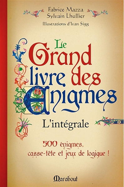 Couverture Le Grand Livre des énigmes, intégrale