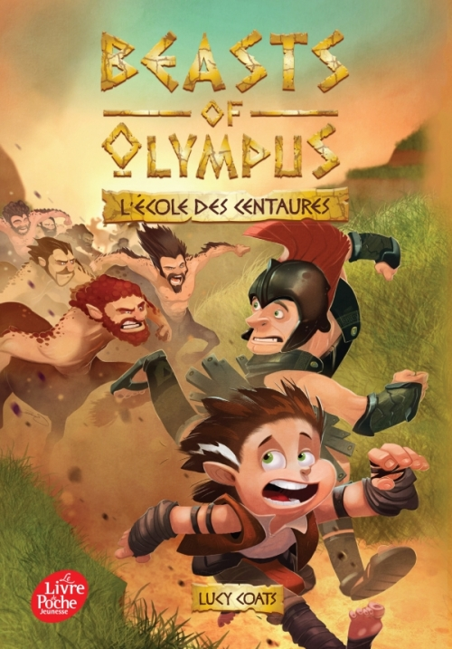 Couverture Beasts of Olympus, tome 5 : L'école des Centaures