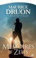 Couverture Les Mémoires de Zeus Editions Bragelonne (Fantasy) 2014