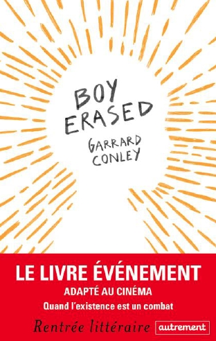 Couverture Boy Erased