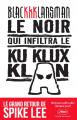 Couverture Le noir qui infiltra le Ku Klux Klan Editions Autrement 2018