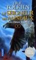 Couverture Le Seigneur des Anneaux, tome 2 : Les deux tours Editions Pocket (Fantasy) 2017