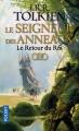 Couverture Le Seigneur des Anneaux, tome 3 : Le retour du roi Editions Pocket (Fantasy) 2017