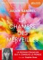 Couverture La chambre des merveilles Editions Audiolib 2018