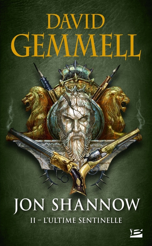 Couverture Jon Shannow, tome 2 : L'ultime sentinelle