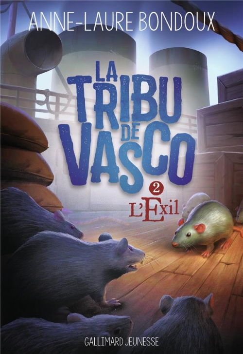 Couverture La Tribu de Vasco, tome 2 : L'Exil