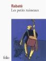 Couverture Les petits ruisseaux Editions Folio  2011