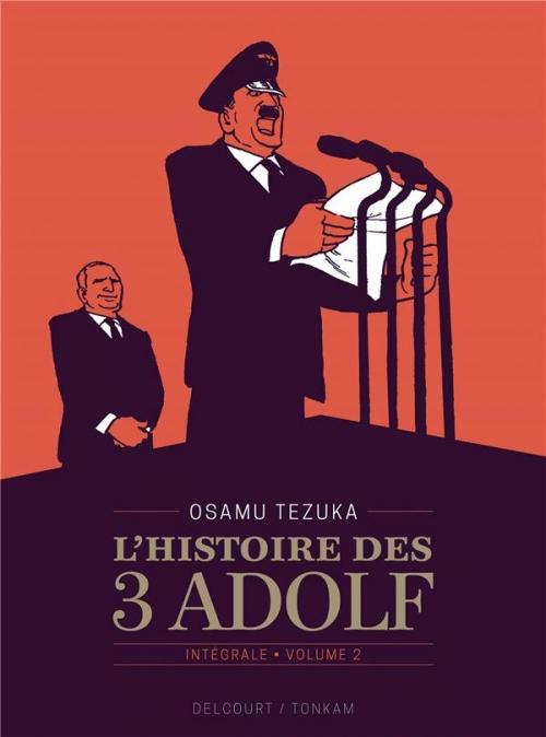 Couverture L'histoire des 3 Adolf, intégrale, tome 2