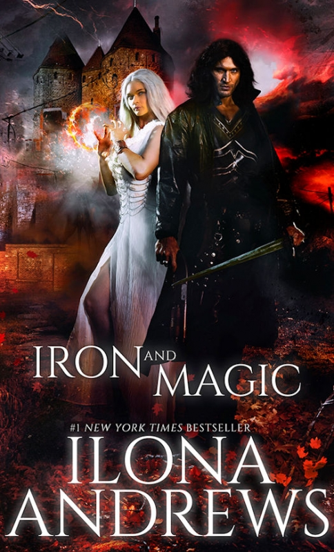Couverture The Iron Covenant, book 1: Iron and Magic