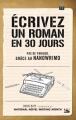 Couverture Ecrivez un roman en 30 jours Editions Bragelonne 2014