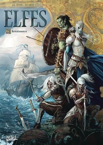 Couverture Elfes, tome 21 : Renaissance