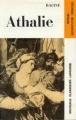 Couverture Athalie Editions Larousse (Nouveaux classiques) 1964