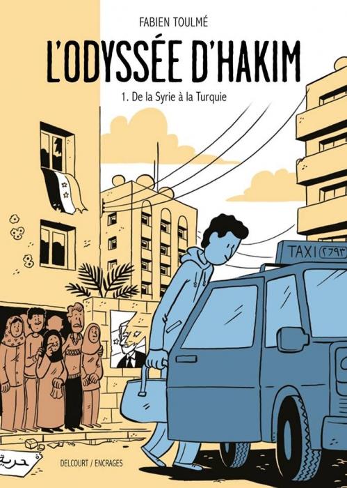 Couverture L'odyssée d'Hakim, tome 1 : De la Syrie à la Turquie