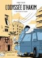 Couverture L'odyssée d'Hakim, tome 1 : De la Syrie à la Turquie Editions Delcourt (Encrages) 2018
