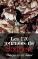 Couverture Les 120 journées de Sodome Editions Feedbooks 1785