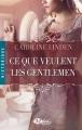 Couverture Ce que veulent les gentlemen Editions Milady 2014