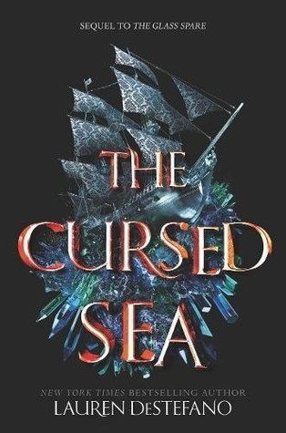 Couverture The Glasse Spare, book 2: The Cursed Sea