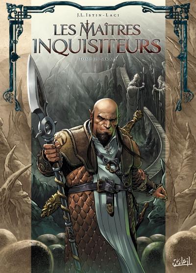 Couverture Les maîtres inquisiteurs, tome 09 : Bakael