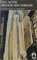 Couverture Trilogie new-yorkaise Editions Babel 1991