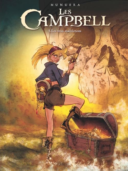 Couverture Les Campbell, tome 5 : Les trois malédictions