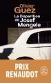 Couverture La Disparition de Josef Mengele Editions Le Livre de Poche 2018