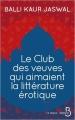 Couverture Le club des veuves qui aimaient la littérature érotique Editions Belfond (Le cercle) 2018