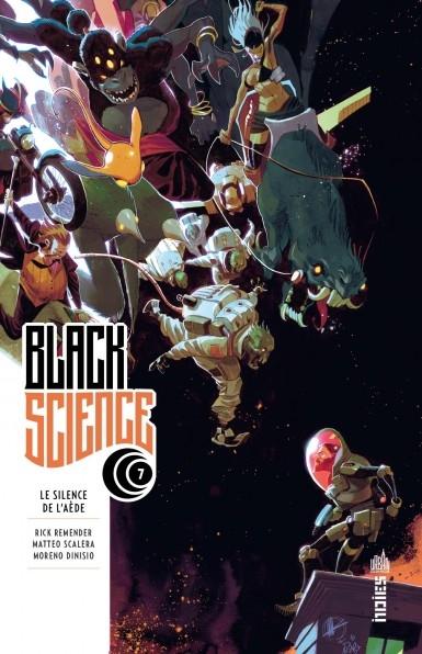 Couverture Black Science, tome 7 : Le Silence de l'Aède