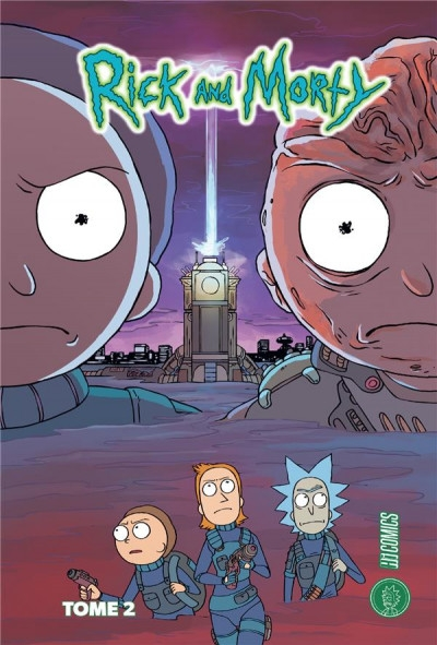 Couverture Rick and Morty, tome 2