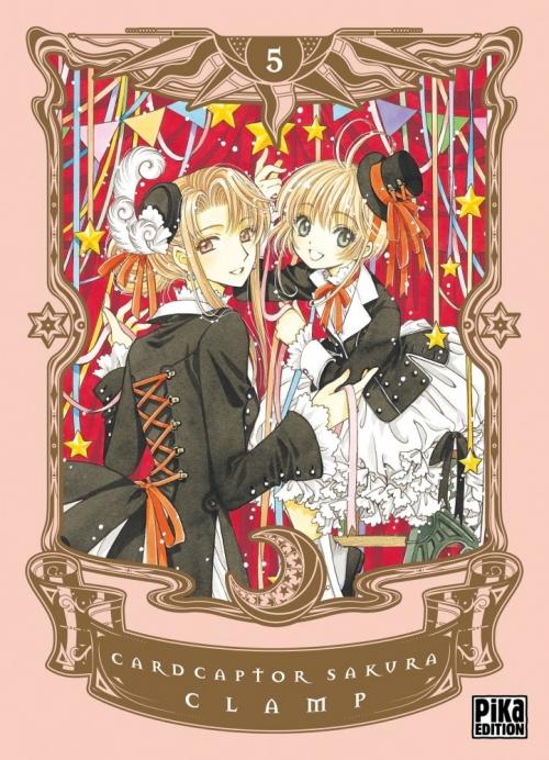 Couverture Card Captor Sakura, deluxe, tome 5