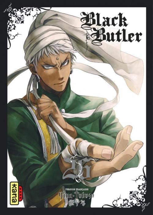 Couverture Black Butler, tome 26