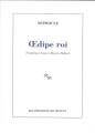 Couverture Oedipe roi Editions de Minuit 2010