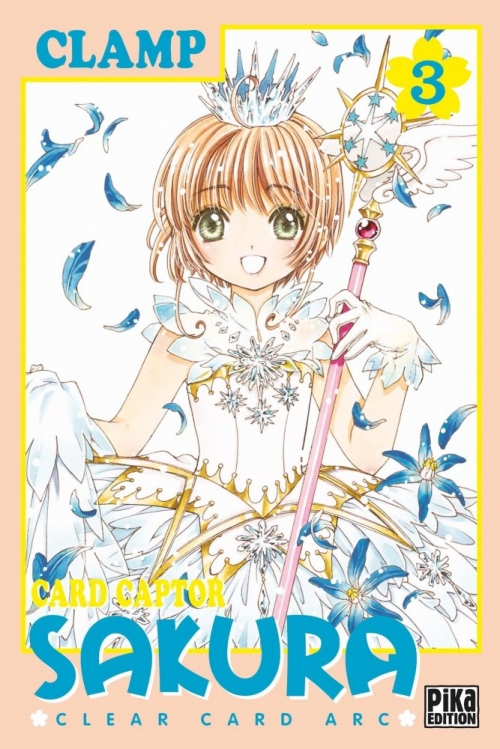 Couverture Card Captor Sakura : Clear Card Arc, tome 3