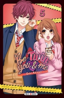 Couverture Be-twin you & me, tome 5