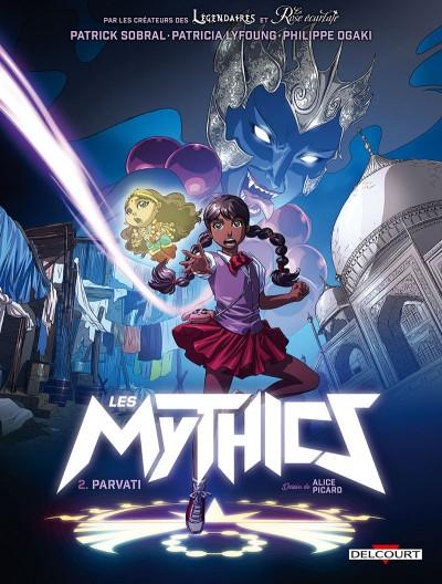 Couverture Les Mythics, tome 2 : Parvati