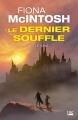 Couverture Le dernier souffle, tome 2 : Le sang Editions Bragelonne (Fantasy) 2018