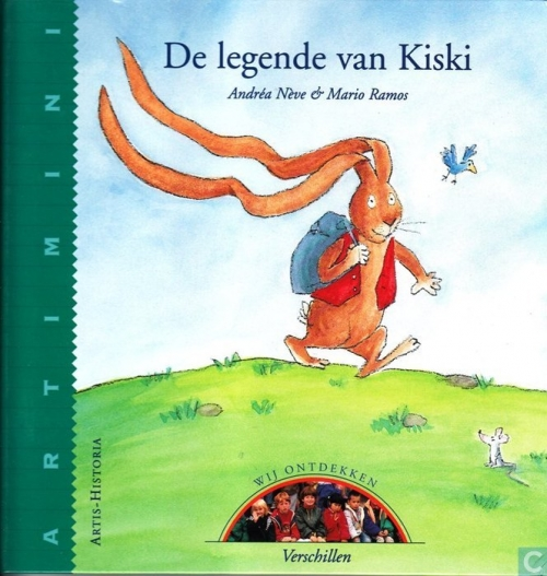 Couverture La légende de Kiski