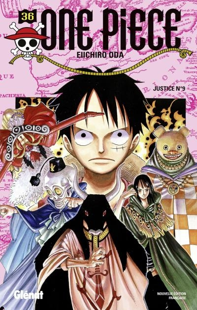 Couverture One Piece, tome 36 : Justice nº9