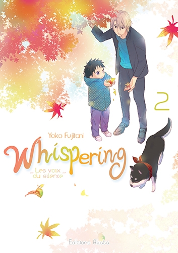 Couverture Whispering : Les voix du silence, tome 2