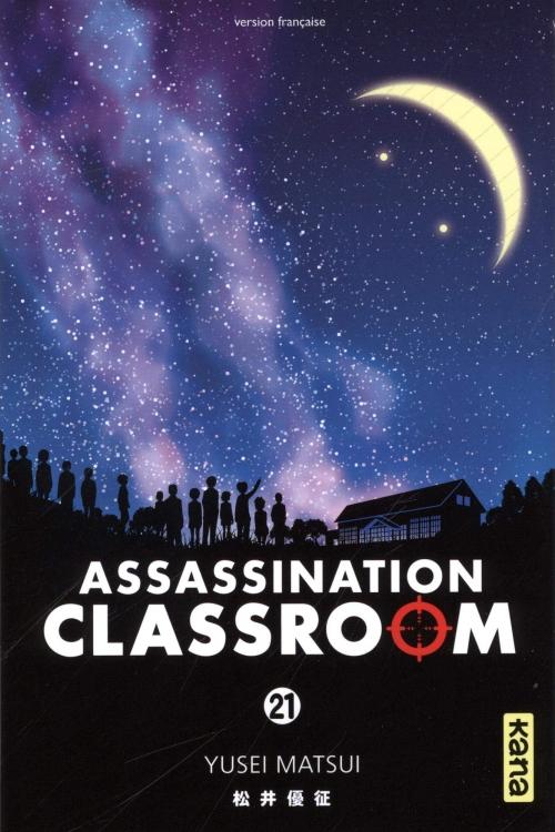 Couverture Assassination Classroom, tome 21