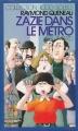 Couverture Zazie dans le métro Editions Gallimard  (1000 soleils) 1986