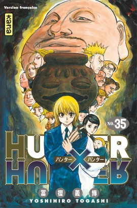 Couverture Hunter X Hunter, tome 35