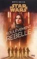 Couverture Star Wars : Soulèvement rebelle Editions Pocket (Jeunesse) 2018
