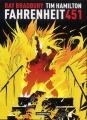 Couverture Fahrenheit 451 Editions Casterman 2010