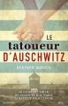 Couverture Le tatoueur d'Auschwitz Editions City 2018