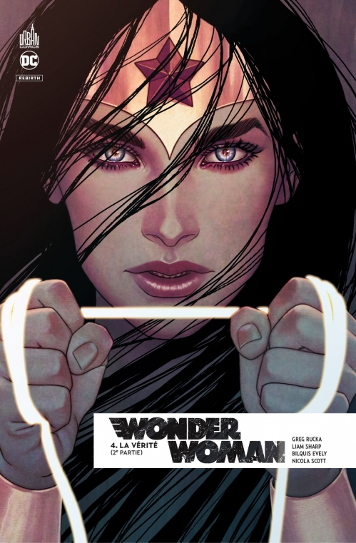 Couverture Wonder Woman Rebirth, tome 4 : La Vérité, partie 2