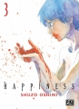 Couverture Happiness, tome 3 Editions Pika (Seinen) 2018