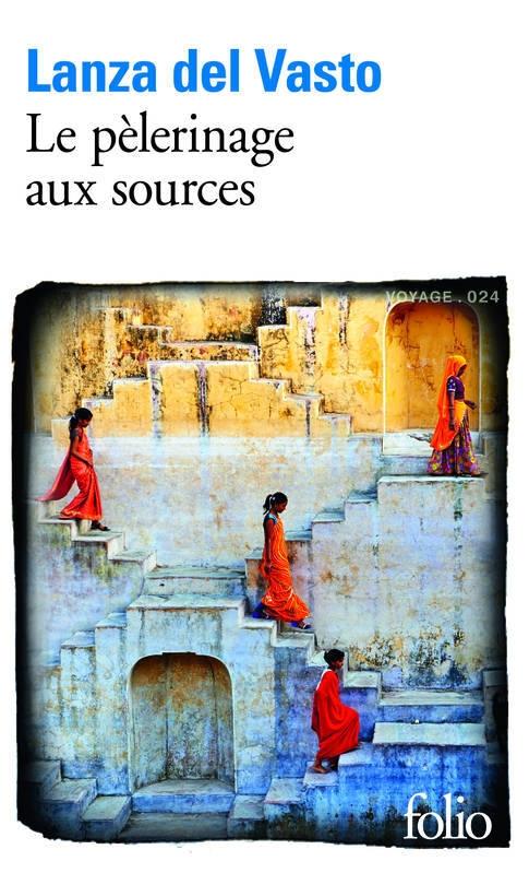 Couverture Le pèlerinage aux sources